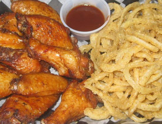 The BBQ Shack: Wings & Rings.