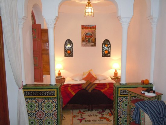Riad Atlas Guest House: Bed