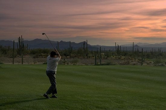 JW Marriott Tucson Starr Pass Resort & Spa: Golf at Starr Pass