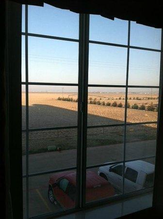 La Quinta Inn & Suites Dumas: View is nice, unlike noisy elevator and guests