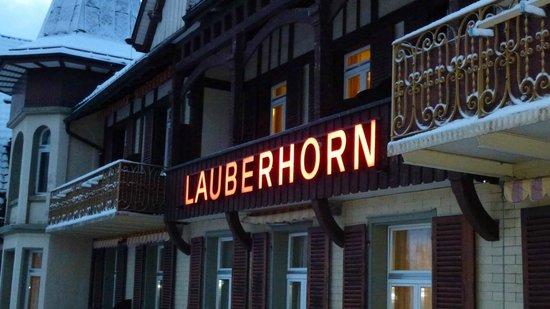 Hotel Victoria-Lauberhorn : Balcony view