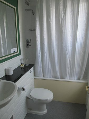 Travelodge Dublin City Centre, Stephens Green Hotel: Large bathroom with tub