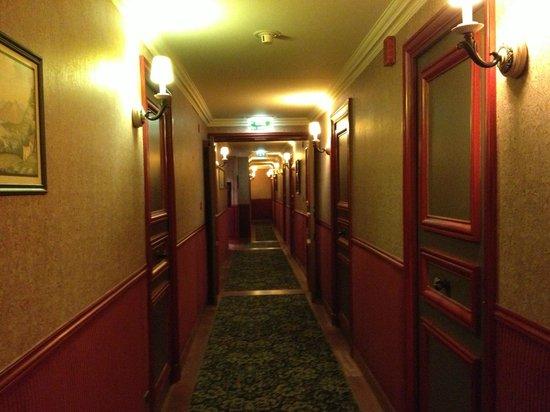 Hotel Relais Monceau: Pasillos
