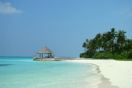 Olhuveli Beach & Spa Maldives: beach