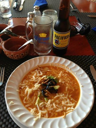 Vagabundos del Mar Trailer Park Restaurant: The tortilla soup. My favorite. I'm craving it now.