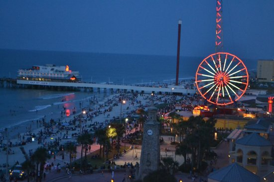 Las Night Daytona Beach The Best Beaches In World