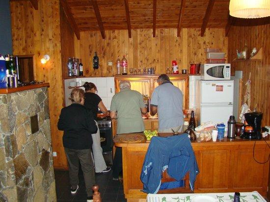 Cabanas Aba Salomon: Cocina