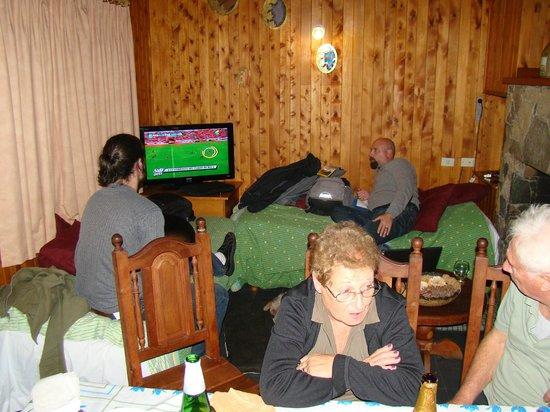 Cabanas Aba Salomon: Tarde de futbol