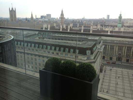 Park Plaza County Hall London: our view from the penthouse