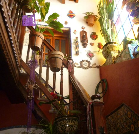 Casa De Pita: escaleras