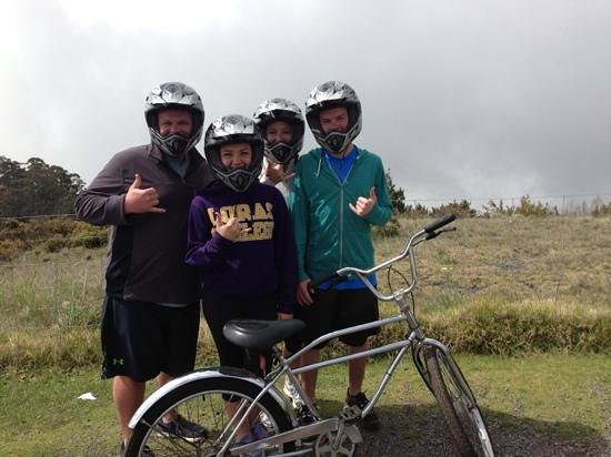 Maui Easy Riders: beginning our ride