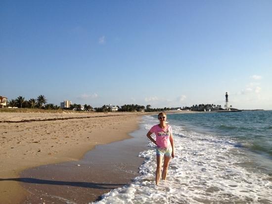 La Costa Beach Club Resort: прогулка по пляжу