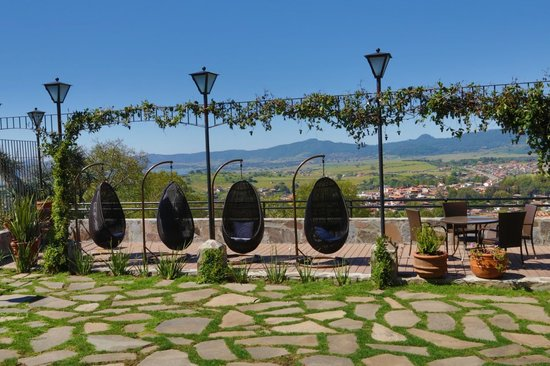 Villa Cassis: Deck con asador
