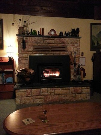 Sierrascape: Fire place