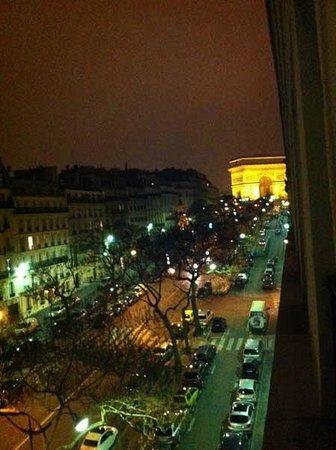 Hotel Astrid: vista desde la habitación