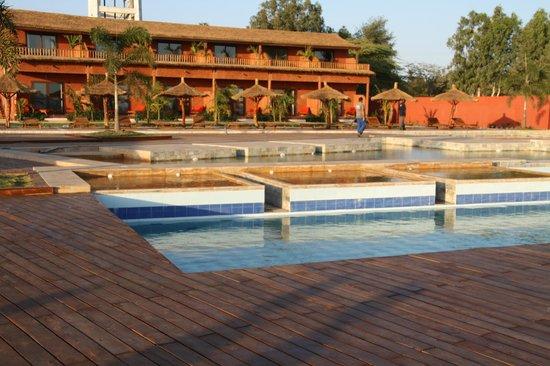 Lookea Royal Baobab: Nouveau Coins piscine