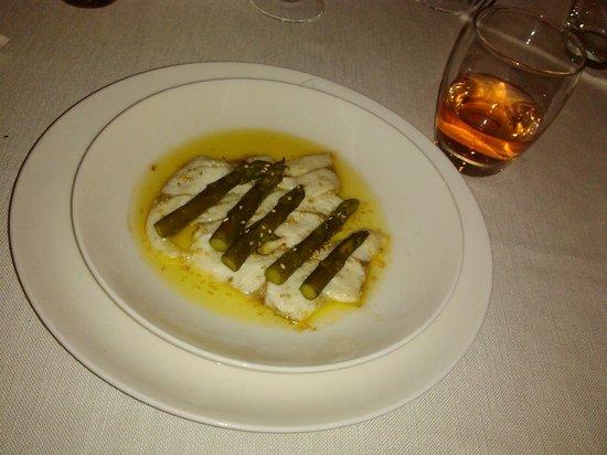 L'Officina del Gusto : Pesce con asparagi