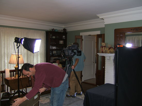 The Ivy House Bed and Breakfast: HGTV Taping