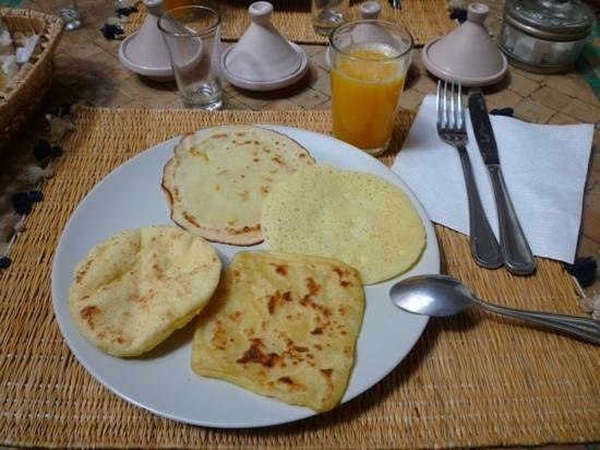 Dar Elma: petit dejeuner