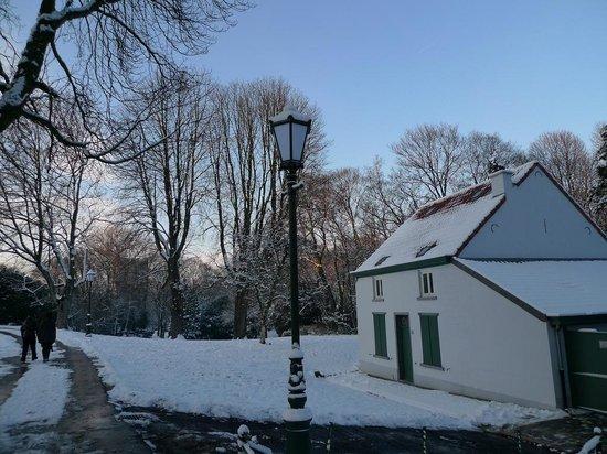 Parc Josaphat: L'hiver au Parc