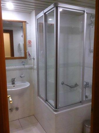 Orient Express Hotel: Shower room