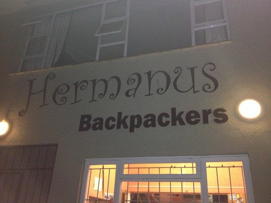 Hermanus Backpackers: from the outside