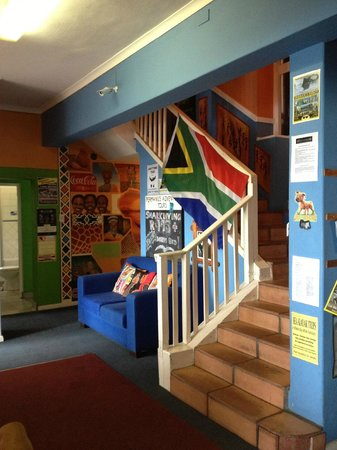 Hermanus Backpackers: entrance