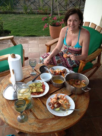 Bahia del Sol Villas & Condominiums : The food
