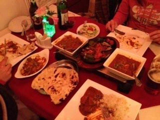Taj India: delicious !!