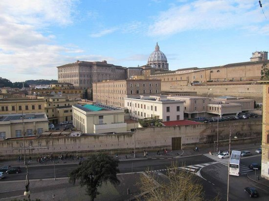 A View of Rome : Vista dalla camera!