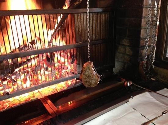Auberge du Raisin: cuisson côte de bœuf