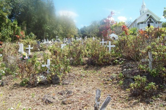 The Painted Church: historical cemetery
