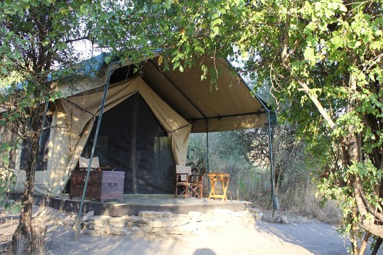 Manyara Ranch Conservancy: Our tent.