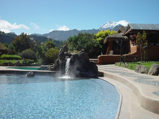 Papallacta, Equador: Balneario pools