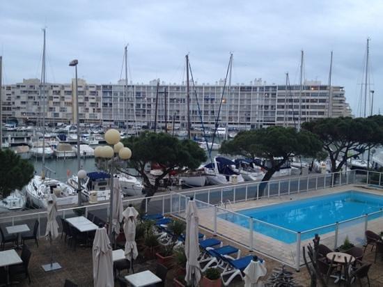 Inter-Hotel Neptune : vu de la chambre