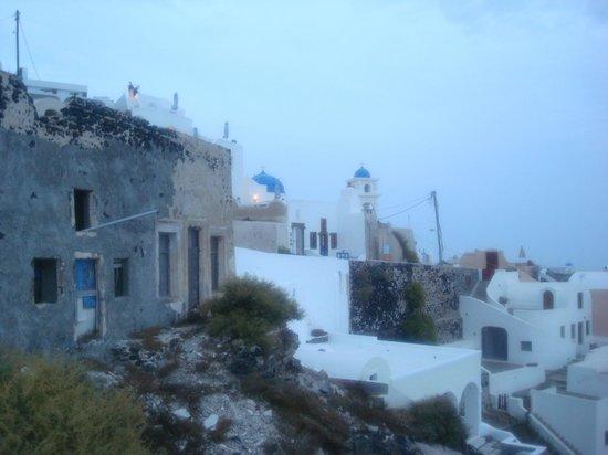 Artemis Villas: View from walkway near hotel