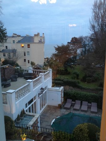 Haldon Priors Bed and Breakfast: View from room 5