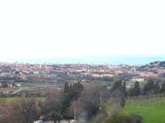 Alloggio al San Girolamo: panorama: giornata uggiosa!