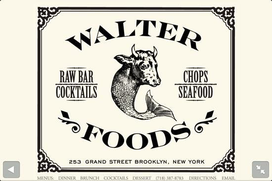 Photo of American Restaurant Walter Foods at 253 Grand St., Brooklyn, NY 11211, United States