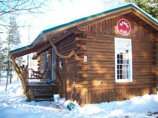 Josselyn's Getaway Log Cabins: Brookside