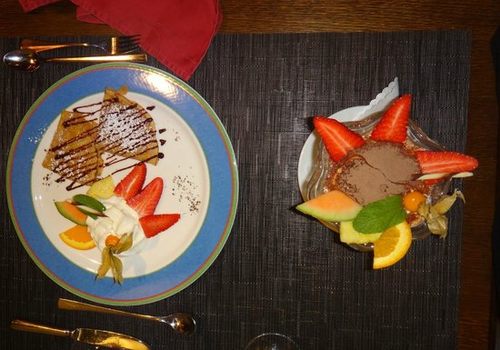 Argentina Steakhouse: Fabulous desserts