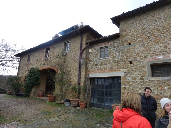 Tuscan Wine Tours by Grape Tours: second winery 10K bottles per year, organic