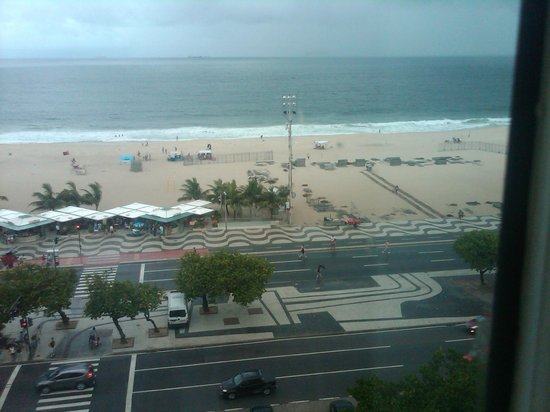 Belmond Copacabana Palace: 4th Floor Room View of Beach