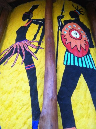 Tribu Hostel: Art work
