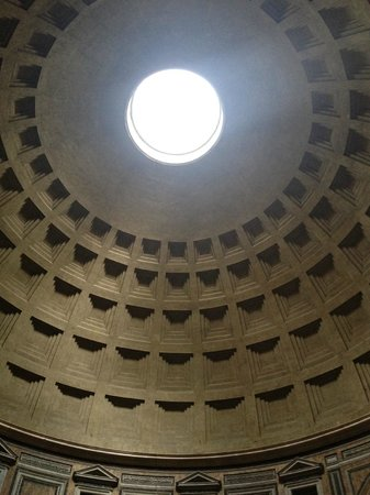 Rome Armony Suites: The roof of the Pantheon