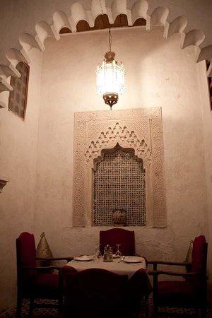 Riad Dalia Tetouan: restaurante