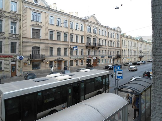 Acme Hotel on Malaya Morskaya: View from my window looking towards the right
