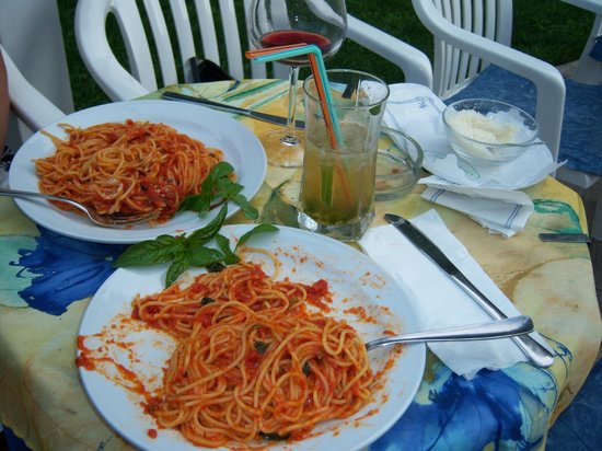 Hellenia Yachting Hotel: Some awesome pasta primavera