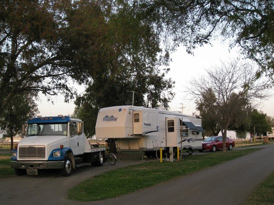 Prado Regional Park: Long, generous spaces - Prado RV Park