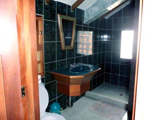 Santa Elena de Uairén, Venezuela: salle de bains